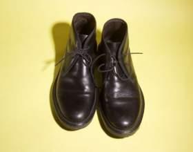 Как очистить обувь от разводов фото