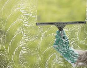 Как очистить стекло фото
