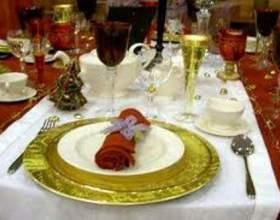 Как оформить стол к празднику фото