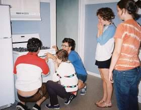 Как определить температуру в газовой духовке фото
