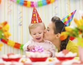 Как отметить первый день рождения ребенка фото