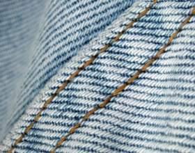 Как починить протертые джинсы фото