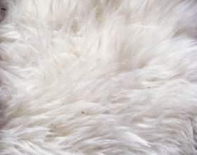 Как почистить белый искусственный мех фото