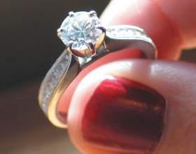 Как почистить кольцо с бриллиантом фото