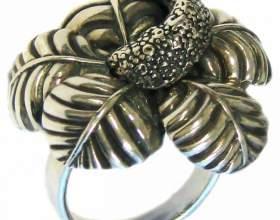 Как почистить серебряное кольцо фото