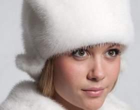 Как почистить шапку из белой норки фото