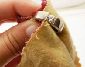 Как почистить золото и бриллианты фото