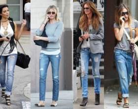 Какую обувь носить с джинсами фото