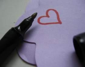 Как написать валентинку фото
