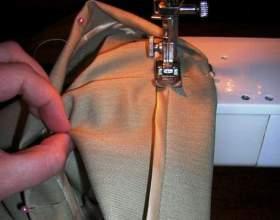 Как подшивать брюки фото