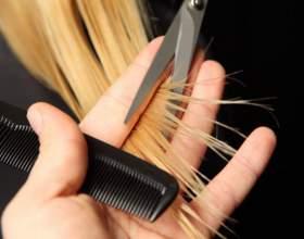 Как подстричь косую челку фото
