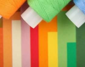 Как покрасить нитки фото