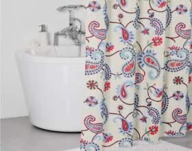 Как повесить штору в ванной фото