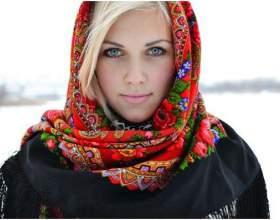Как повязать платок на голову фото
