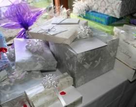 Как преподнести подарок на свадьбе фото