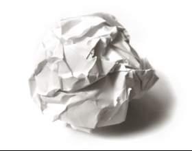 Как разгладить бумагу фото