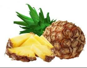 Как разрезать ананас фото