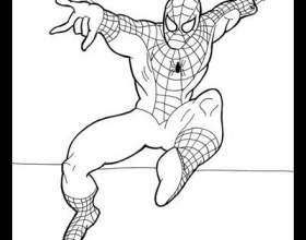 Как рисовать человека-паука фото