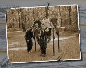 Как сделать эффект старой фотографии фото