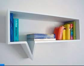 Как сделать книжную полку фото