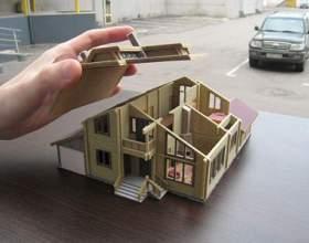 Как сделать макет дома своими руками фото