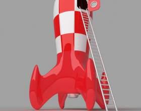 Как сделать макет ракеты фото