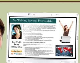 Как создать свою страницу бесплатно фото
