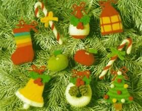 Как сделать своими руками новогодние игрушки на елку фото