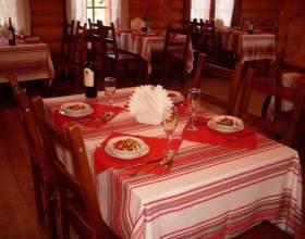Как сервировать стол в ресторане фото