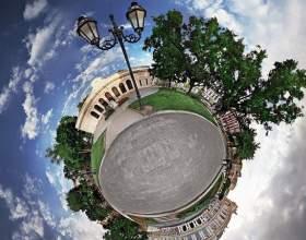 Как снимать сферические панорамы фото