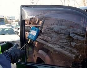 Как снять тонировку с заднего стекла фото