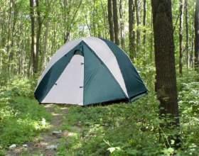 Как собрать палатку быстро фото