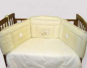 Как сшить бампер для детской кроватки фото