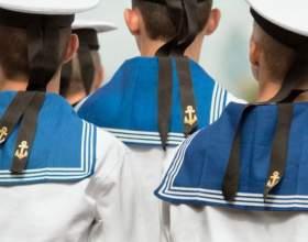 Как сшить костюм моряка фото