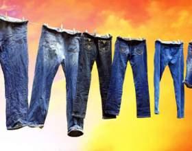 Как стирать джинсы фото