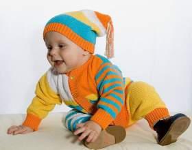 Как связать костюм для малыша фото