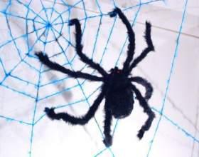 Как связать паутину фото