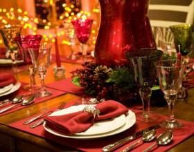 Как украсить стол на рождество фото