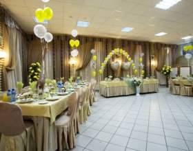 Как украсить зал к свадьбе фото