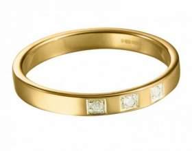 Как уменьшить золотое кольцо фото