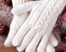 Как связать перчатки спицами фото