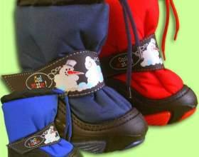 Как выбрать зимнюю обувь детям фото