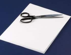 Как вырезать из бумаги елку фото