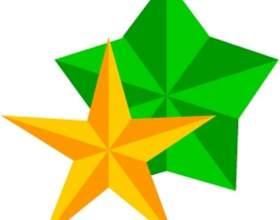 Как вырезать звезду из бумаги фото