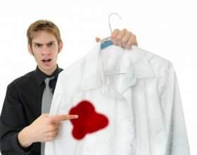 Как отстирать пятна крови фото