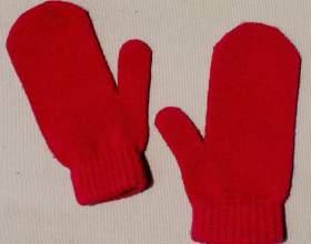 Как вывязать палец на варежке фото