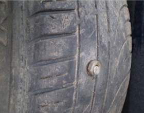 Как заклеить колесо фото