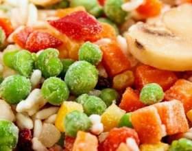 Как замораживать овощи и фрукты фото