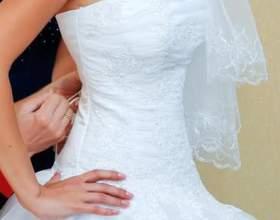Как зашнуровать свадебное платье фото