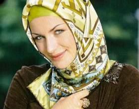 Как завязать мусульманский платок фото